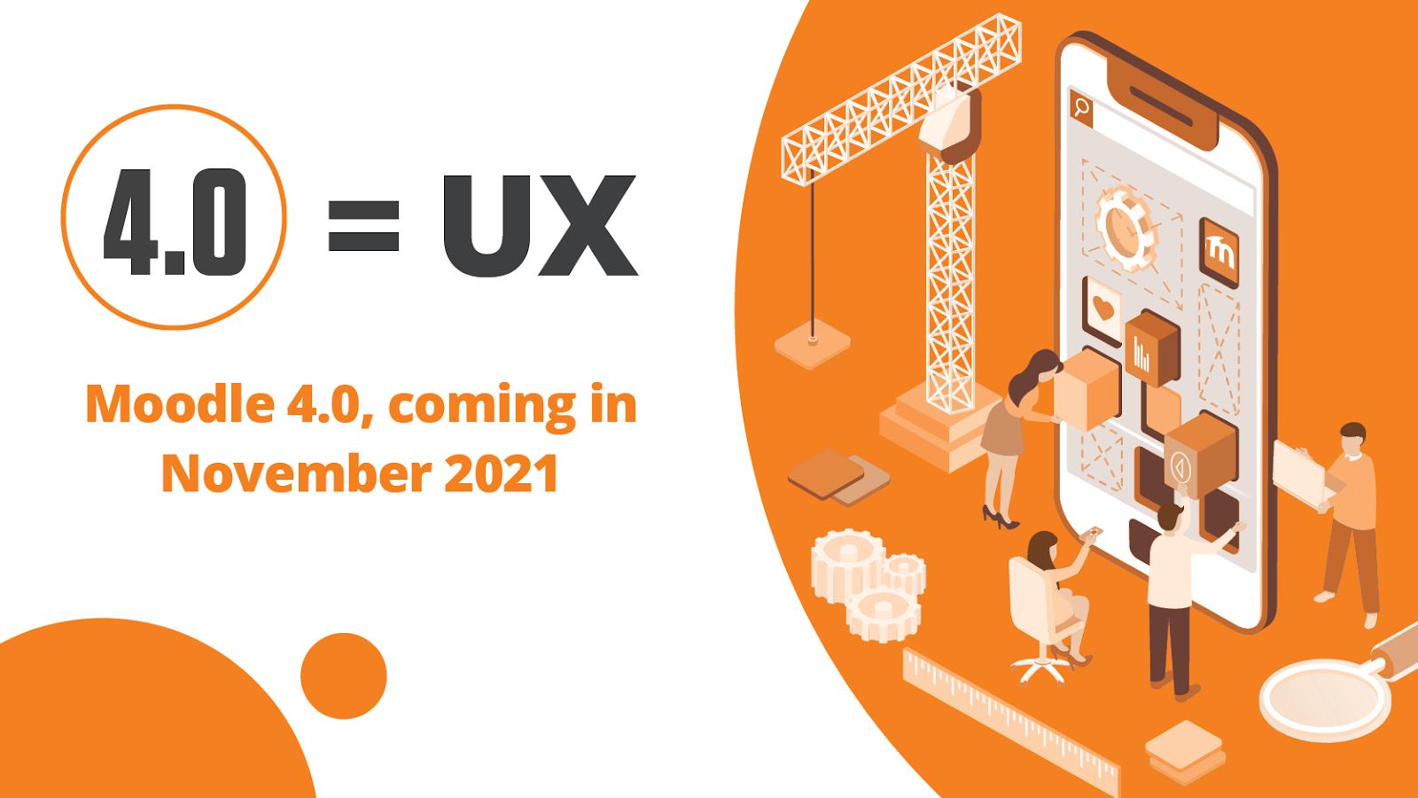 Moodle 4.0 UX